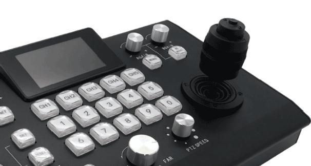 Avonic PTZ controller with joystick