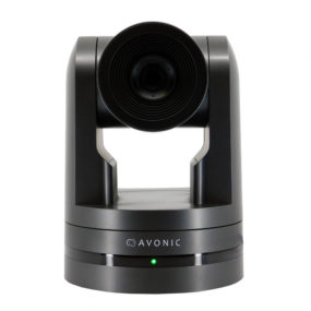 Avonic_CM70_PTZ IP camera with 20x zoom and tally light in black