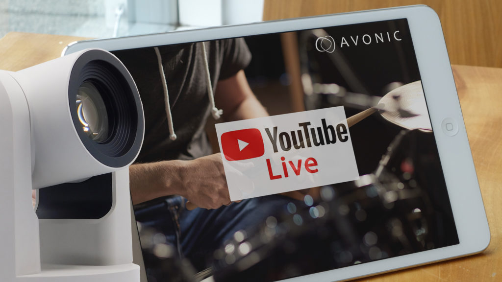 Avonnic Live Stream solution to YouTube