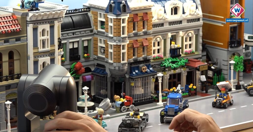 PTZ camera in Lego City